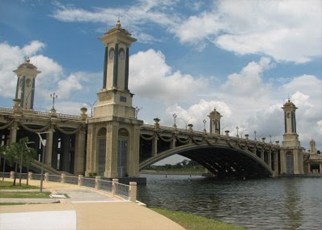 BR6 Seri Gemilang Bridge Putrajaya, Malaysia