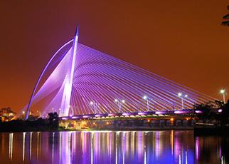 BR9 Seri Wawasan Bridge Putrajaya, Malaysia